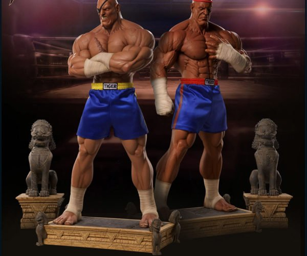 PCS Collectibles Sagat 1/3 Scale Statue will Tiger Knee Your Wallet