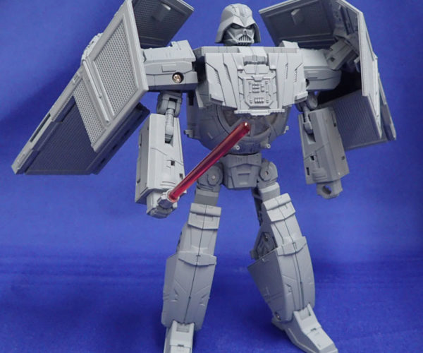 Takara Tomy Star Wars x Transformers TIE Advanced x1 Spaceship Transforms into Darth Vader