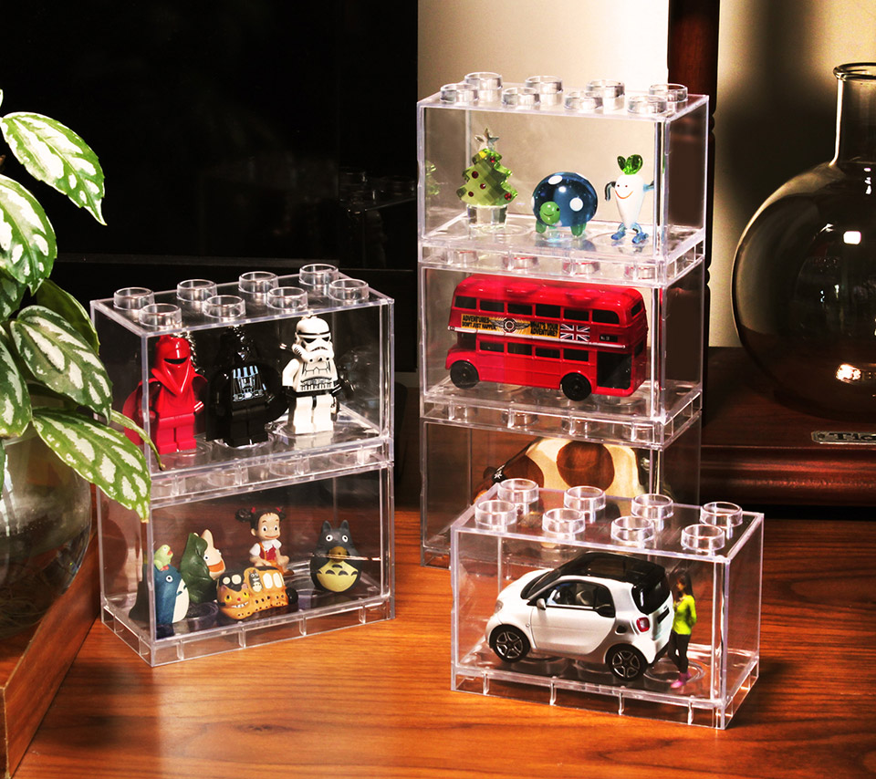 T Brick Display Your Toys Inside A Lego Technabob