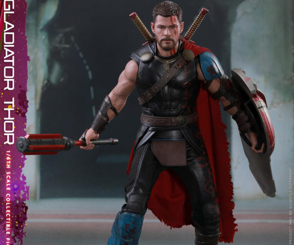 Hot Toys Gladiator Thor Action Figure: A Toy from Work