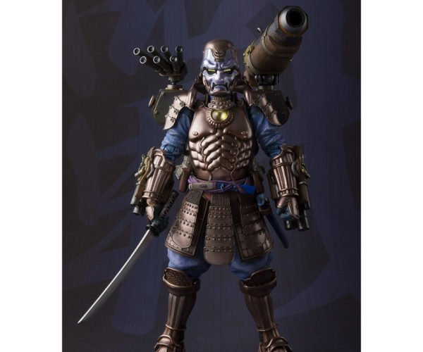 Bandai Samurai War Machine Manga Realization Action Figure: Rhonin