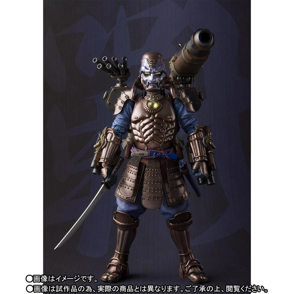 Bandai Samurai War Machine Manga Realization Action Figure ...