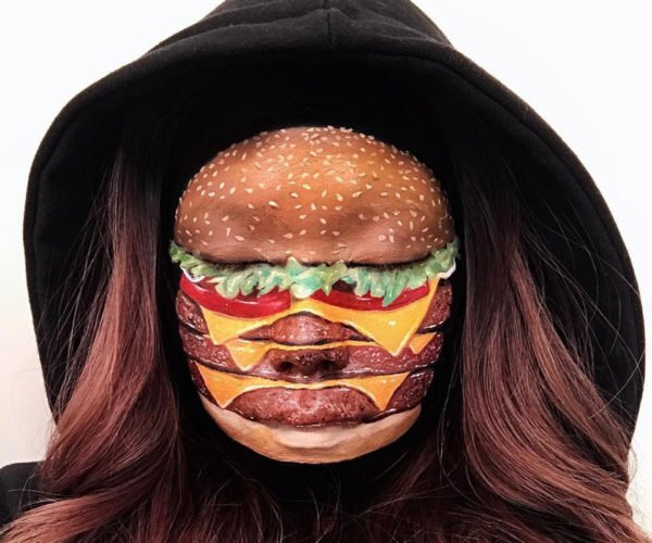 The Ultimate Face Painting: Cheeseburger Face