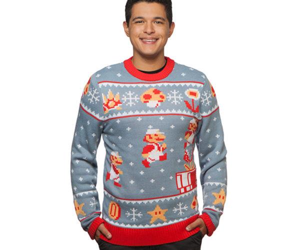 Mario and Zelda Holiday Sweaters: Merry Nintendomas!