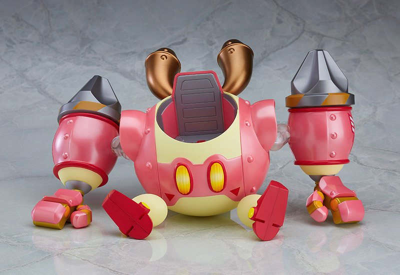 Nendoroid More Robobot Armor Amp Kirby Mimech