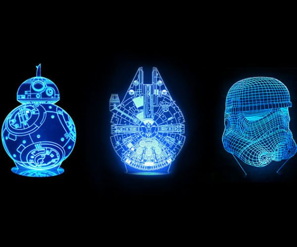 Get These Cool Star Wars Lamps for 20% Off