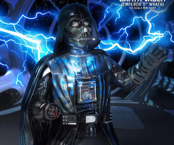 Gentle Giant Darth Vader Emperor's Wrath 1/6 Scale Bust: Proof that Anakin Skywalker Has Ribs