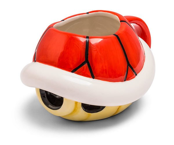 Super Mario Bros. Turtle and Boo Mugs: 1up with Caffeine