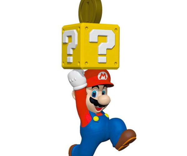 Super Mario Keepsake Ornaments 1Up Your Tree