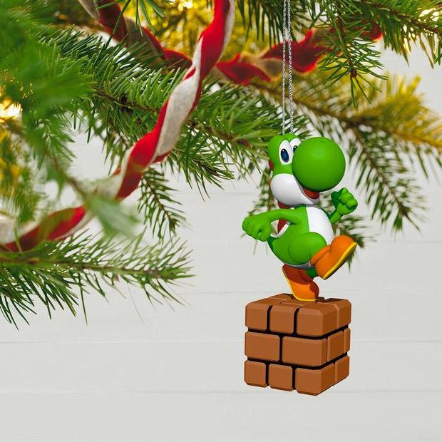 Super Mario Keepsake Ornaments 1up Your Tree Technabob