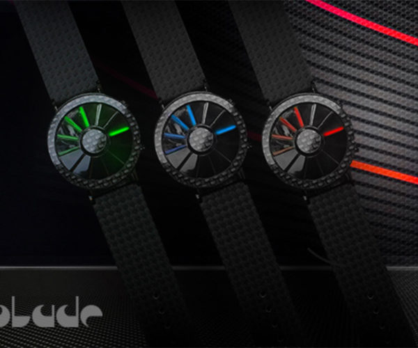 TokyoFlash Blade Carbon Fiber Watch Is a Super Slick Way to Tell Time