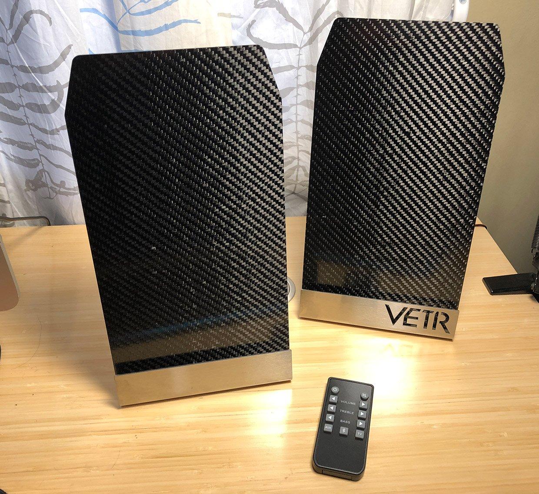 Vetr Panl1 Carbon Fiber Speaker System Review
