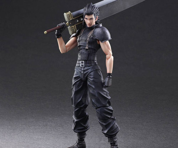 Play Arts Kai Crisis Core Zack Fair Action Figure: Soldier of Flashback