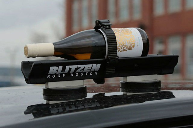Blitzen Car Rooftop Beverage Chiller Take Your Booze On A