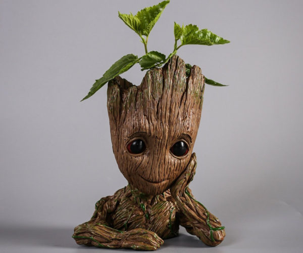 Baby Groot Flower Pot Takes Root