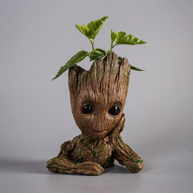 Baby Groot Flower Pot Takes Root Technabob