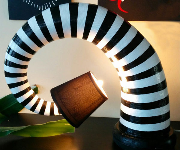 Beetlejuice Lamps Look Straight out of the Mind of Tim Burton