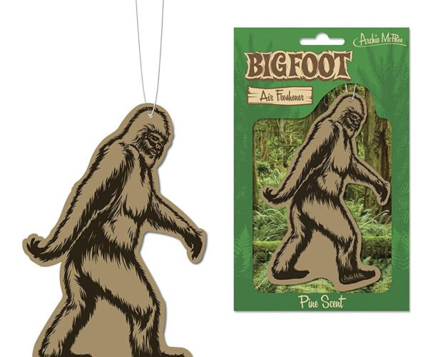 Bigfoot Air Freshener Doesn't Actually Smell Like Sasquatch