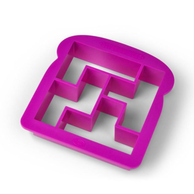 This Cutter Turns Sandwiches into Tetris Pieces