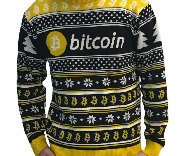Cryptocurrency Ugly Sweaters Are Already Worth Double What You Paid for Them