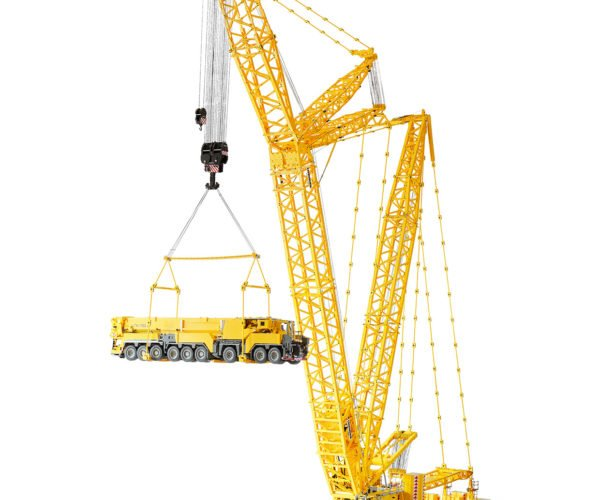This Giant LEGO Crane Can Lift Furniture