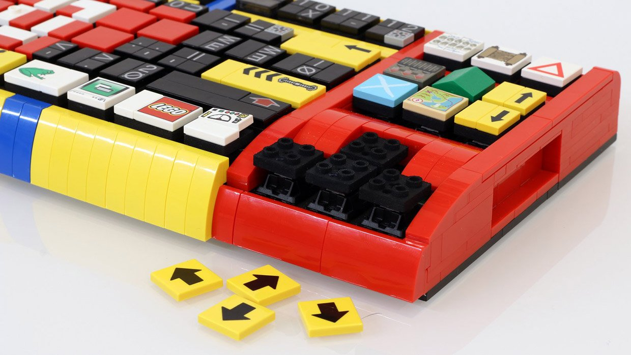 Lego Mechanical Keyboard Clicking Things Is Awesome
