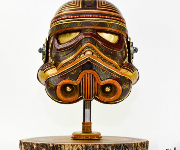 Artist Transforms Ugly Louis Vuitton Bags into Awesome Star Wars Sculptures