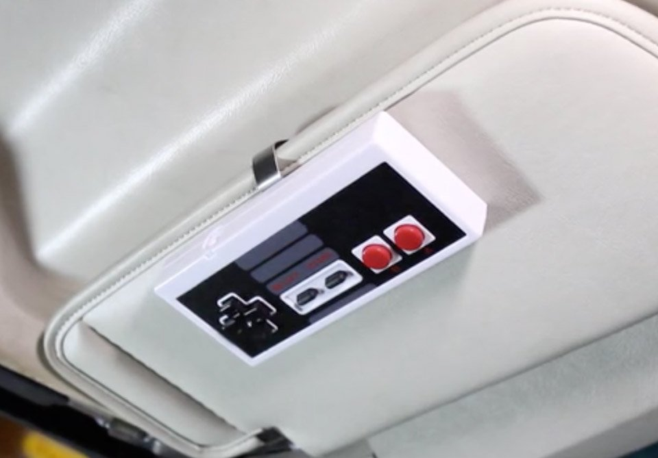 garage door opener remote. The Opendo Garage Door Opener Is Simply A Remote Transmitter Stuffed Into Shell Of An 8-bit Nintendo Controller. It\u0027s Something You Could Hack