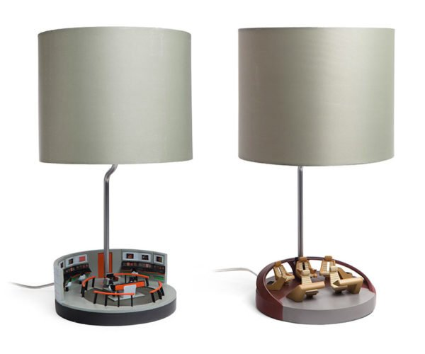 Star Trek Bridge Lamps Operate at Light Speed
