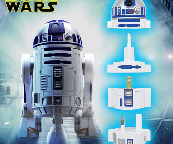 R2-D2 World Power Adapter: No Need to Go to Toshi Station to Pick up Some Power Converters
