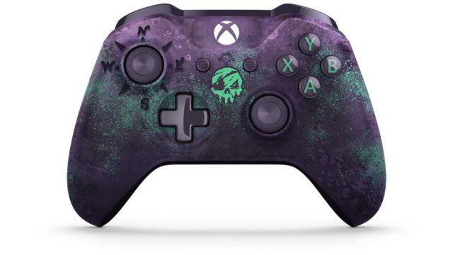 Limited Edition Sea of Thieves Xbox Controller Includes Glowing Skull