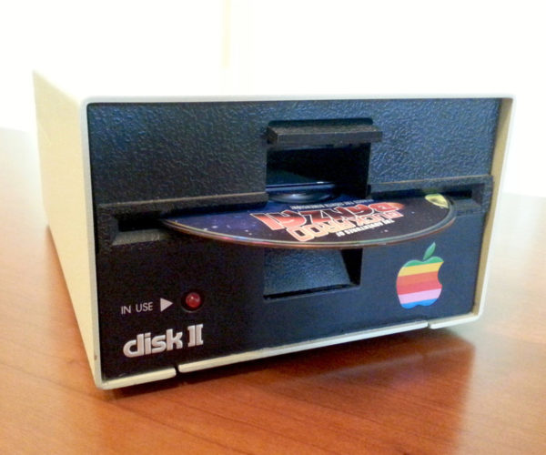 Apple II Blu-ray/DVD Drive: Disk to the Future
