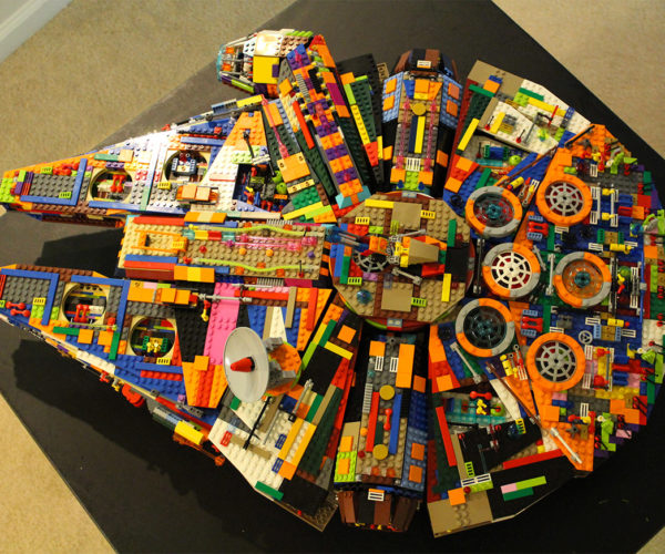 We Bet this Color LEGO Millennium Falcon Can Do the Kessel Run in 11 Parsecs