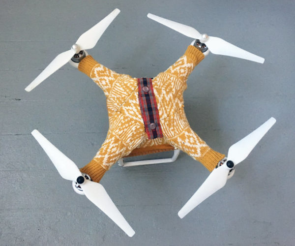 Drone Sweaters: Because It's Windy Up There
