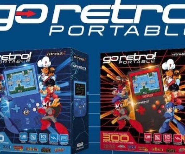Retro-Bit Go Retro! Portable Is Loaded with 300 Licensed Games