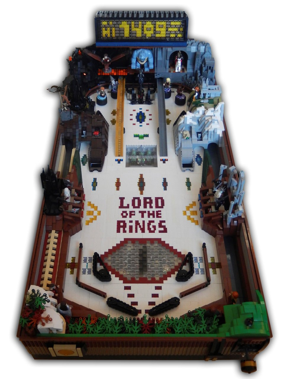 Mount Doom Lego Lord Of The Rings Treasure