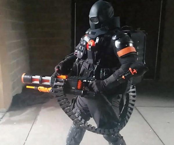 Modder Turns NERF Rival Blaster Into 2,000-Round Minigun