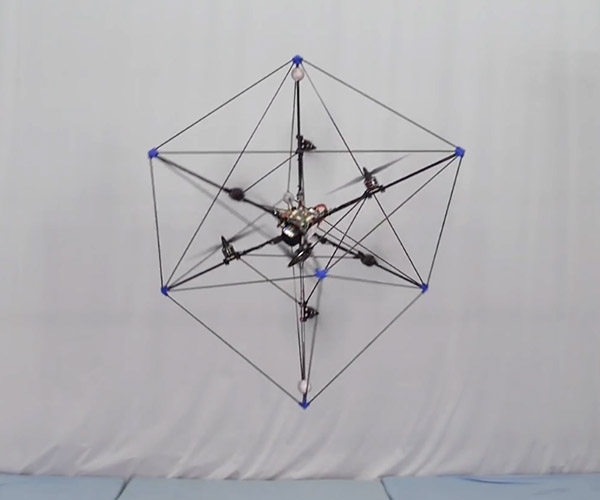 Watch The Omnicopter Drone Play a Game of Catch
