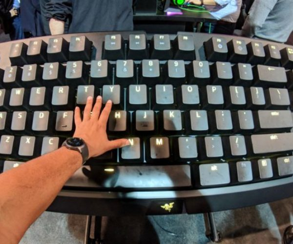 Razer Built a Giant Working Mechanical Keyboard