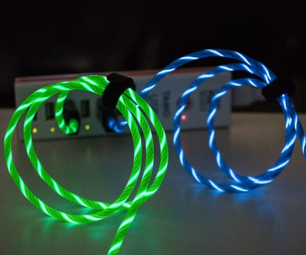 Charge Your Phone and Light the Way with This Light-up Lightning Cable
