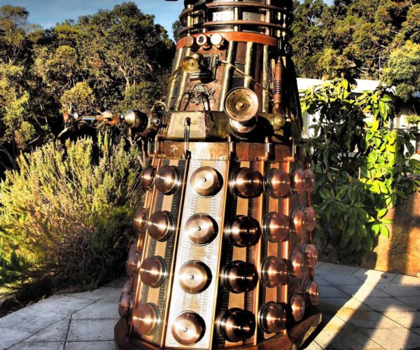 "This ""Fully-operational"" Steampunk Dalek Is Ready to Exterminate Your Bank Account"