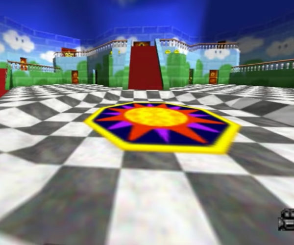 First Person Mario 64 Will Make You Dizzy