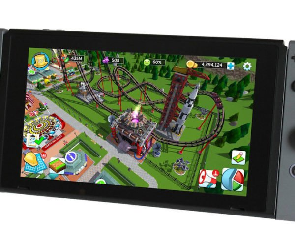 Atari Raising Crowd Investments to Make RollerCoaster Tycoon for the Nintendo Switch