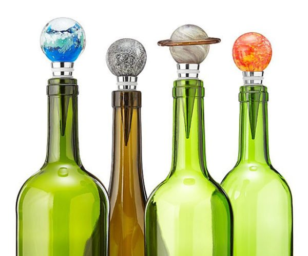 Solar System Glow-in-the-Dark Bottle Stoppers