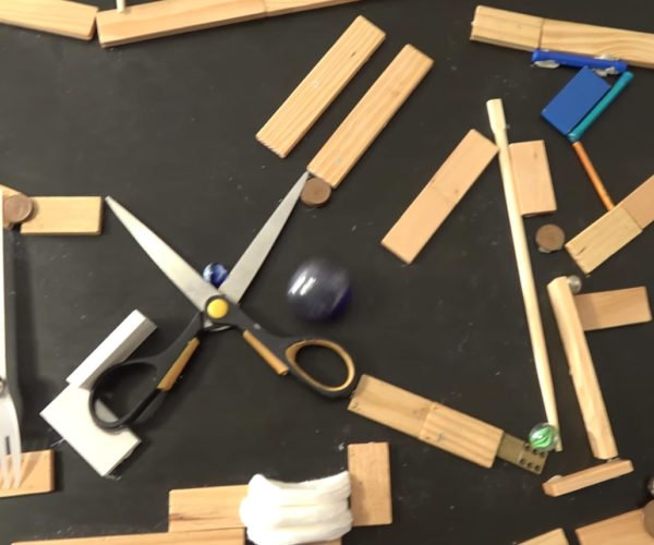 Relax and Enjoy This Rube Goldberg Machine