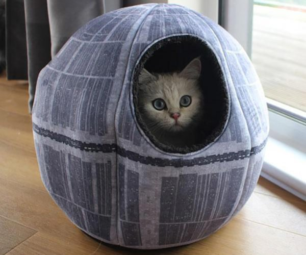 Star Wars Death Star Pet Cave: The Dark Side of the Paws