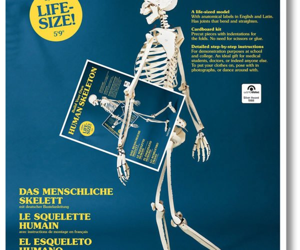 This Book Lets You Build Your Own Human Skeleton