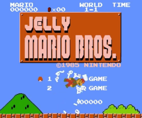 Jelly Super Mario Brothers: A Bad Trip in the Mushroom Kingdom
