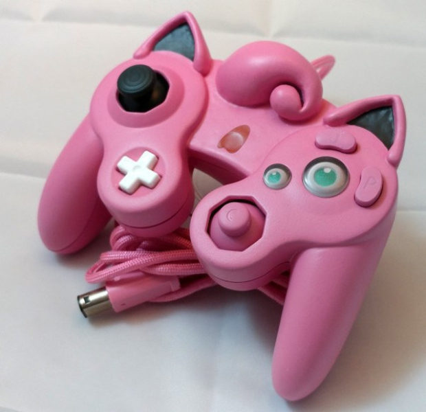 This Jigglypuff GameCube Controller Is a Pink Nightmare