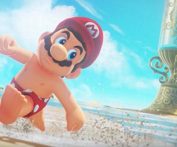 Nintendo Talks About Mario's Nipples